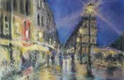 M. HUBERT-MOUNEY - Ambiance nocturne de quartier